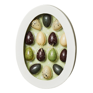 påskeæske, green easter, påskeæg, chokolader
