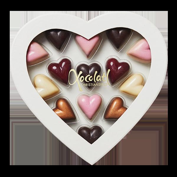 hjerteæske, chokoladehjerter, valentines, bryllup, morsdag, mors dag
