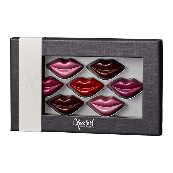 love lips, læber, chokoladekys, chocolate kiss, kærlighed