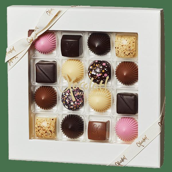 lyserød chokolade, pink choko, fyldt chokolade, valentines chocolate, mors dag