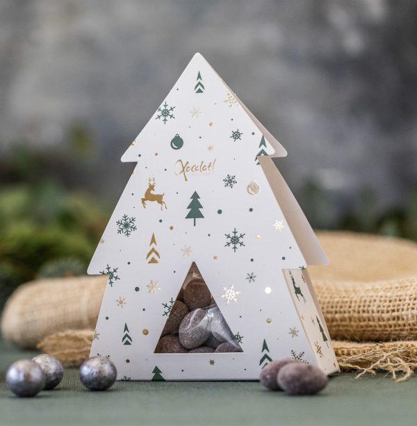 Juletræ, chokoladejuletræ, dragé